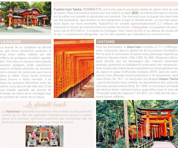 Le Sanctuaire Fushimi Inari Taisha