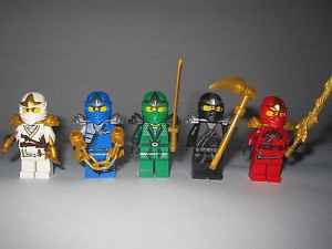 ninjago les 5 ninjas