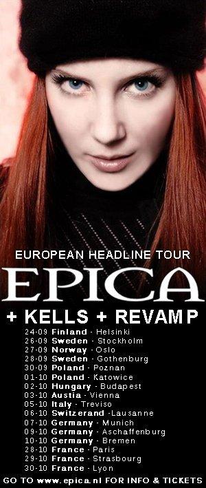 Epica en tournée