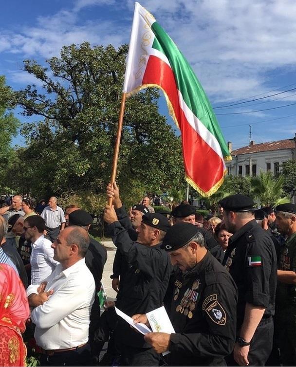 Abkhazie pour le 25ème anniversaire de la guerre contre la Géorgie de 1992-93.