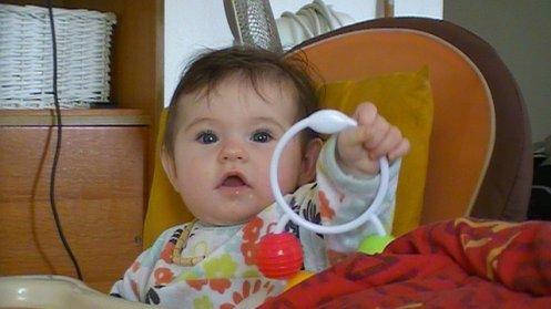 princesse 7 mois déja