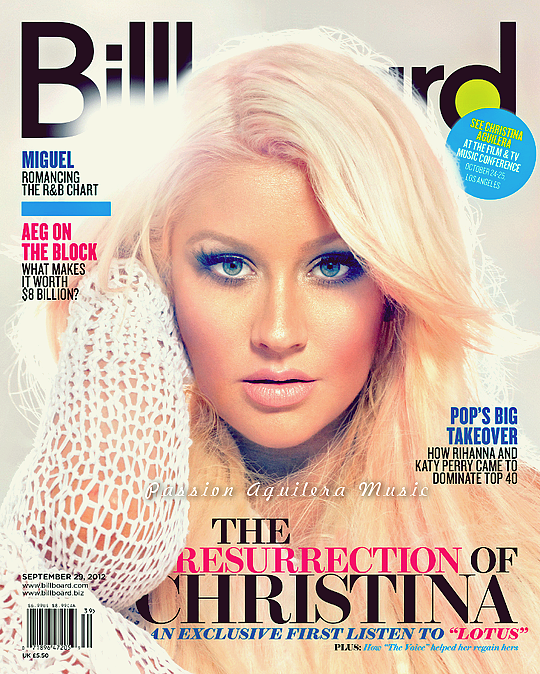 • Couverture du Billboard : La réssurection de Christina ! •