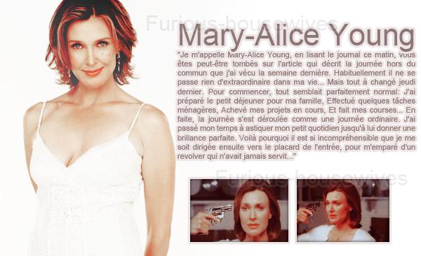 -----------L'histoire de Mary-Alice , raconté par elle même ..