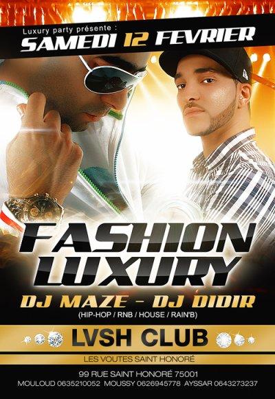 DJ MAZE EN LIVE SAMEDI 12 FEVRIER 2011 SUR PANAME