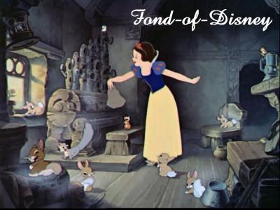 Blog de fond of disney page 2 folle de disney - Animaux blanche neige ...