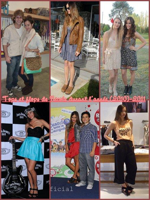 Les tops et flops de Nicole durant (2010)-2011 selon moi !