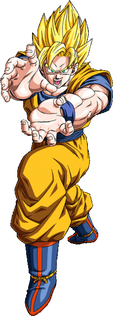 Sangoku super sayen dragon ball z - Sangoku super sayen 6 ...