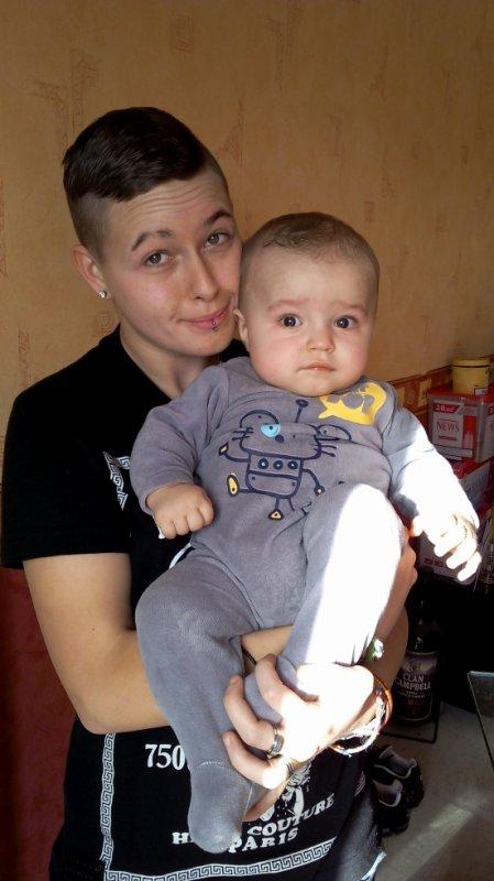 ma soeurette et mon fils
