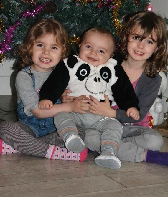 mes 3 beau enfants que j'aime