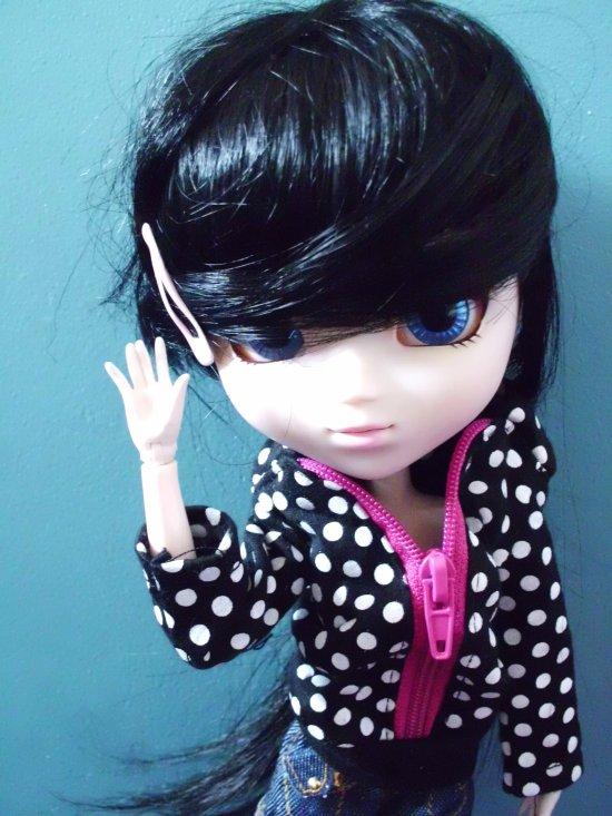 Mathilde et sa new coiffure !!! <3