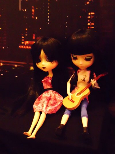 Mathilde et Youne à New-York