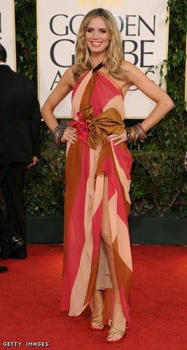 Top/Flop Spécial Golden Globes: Eva Longoria et Heidi Klum
