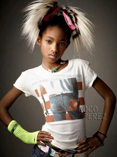Photoshoot de Willow Smith pour le magazine Vanity Fair