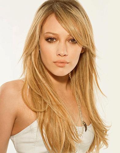Hilary Duff en 2006 et en 2010