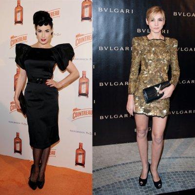 Top/Flop: Qui porte mieux la robe à épaulette?