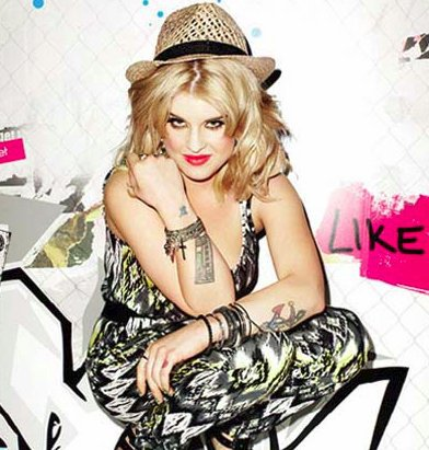 Photoshoot de Kelly Osbourne pour Material Girl