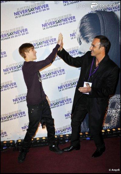"Nikos Aliagas:""Justin Bieber n'est pas un baltringue!"""