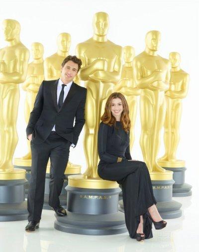 Anne Hathaway et James Franco: ils se sont détestés pendant les Oscars