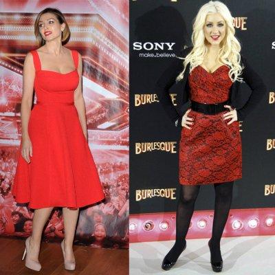 Top/Flop: qui porte mieux la robe rouge?
