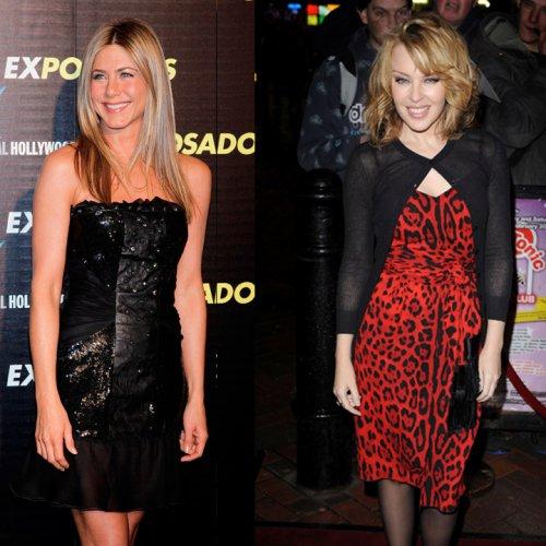 Top/flop: Kylie Minogue VS Jennifer Aniston