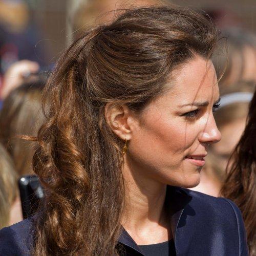 La coiffure du jour: Kate Middleton