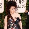 Zoom sur Helena Boham-Carter au Golden Globes 2011