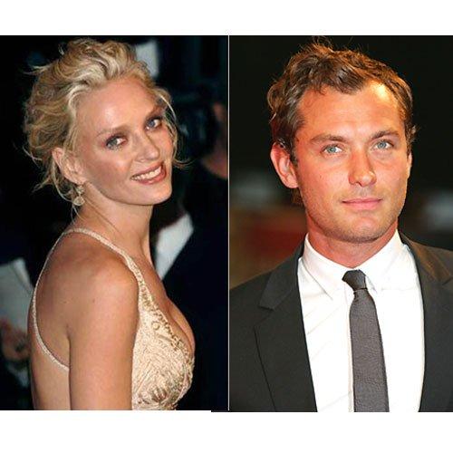 Jude Law et Uma Thurman, jury pour le Festival de Cannes 2011