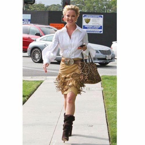 Look du jour: Katherine heigl en mode Pocahontas