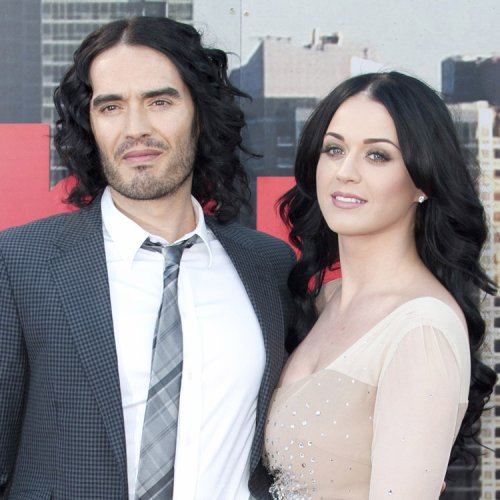 Les coiffuresdu jour: Katy Perry et Russel Brand