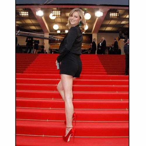 Eva Herzigova au festival de Cannes