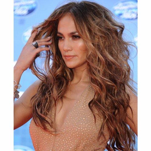 Jennifer Lopez et sa chevelure sauvage