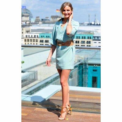 Cameron Diaz: Si belle en robe Akris