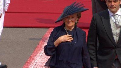 Bernadette Chirac à Monaco