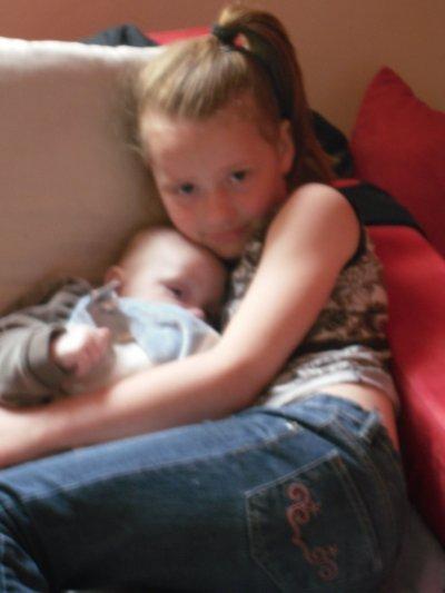 moi et un bebe
