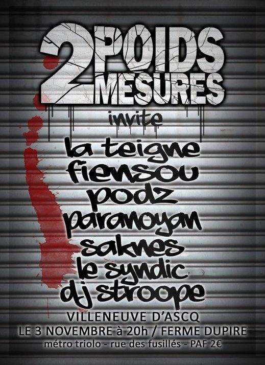 2 Poids 2 Mesures invite !!
