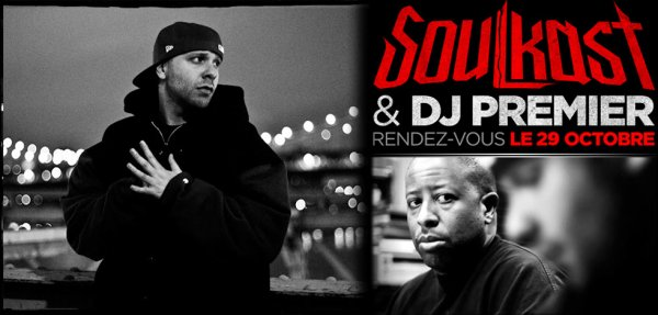 Exclu ! DJ PREMIER produit un beat pour un rappeur français du nord ( lille 59 ) ! SOULKAST - bientôt l'album avec : TALIB KWELI / GHOSTFACE KILLAH / BONE THUGS-N-HARMONY / ONYX / DAS EFX / IAM / KERY JAMES / MEDINE...