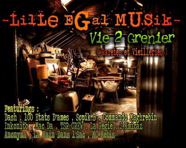 Lille Egal Musik - Vie 2 Grenier ( RARETES ET VIEILLERIES )