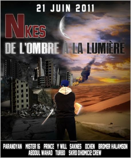 """Sortie du projet """"De l'ombre à la lumière"""" du poto NKes ! du bon !!"""