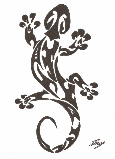 Salamandre style polyn sien blog de totodessin49 - Dessin de salamandre a imprimer ...