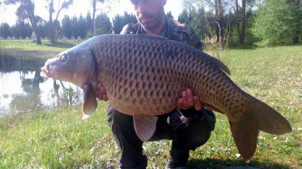 48h de pêche et un beau poisson c'est mieux qu'un capot