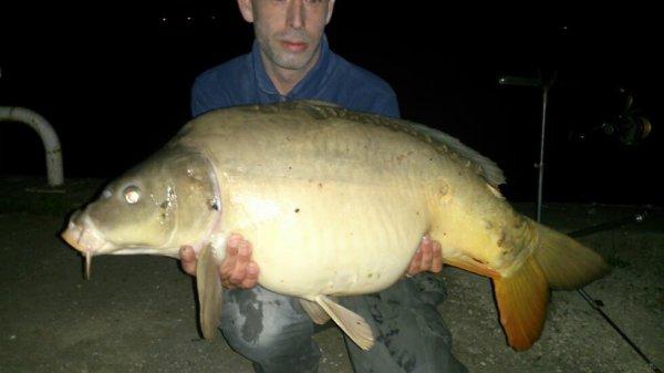 Un beau poisson de rivière, 16kg200