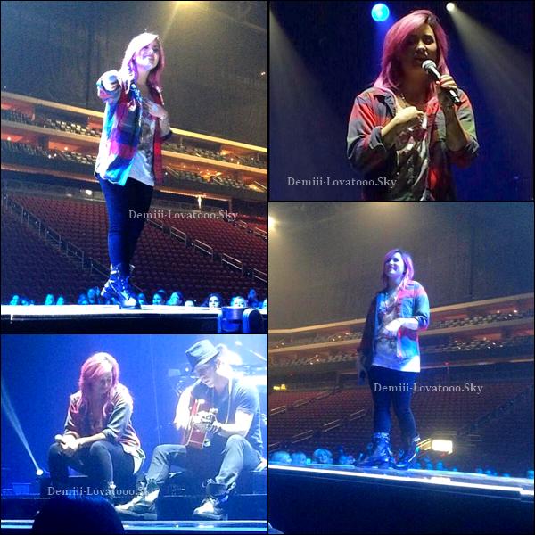 15/02/2014 : Demi était en concert à Glendale, en Arizona.