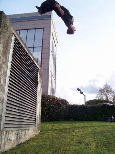 salto arriere 3m