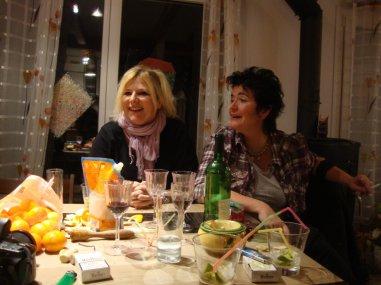 Anniversaire de Anne, moules et Caipairinha
