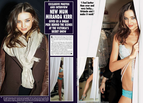 Miranda Kerr- HELLO! UK magazine
