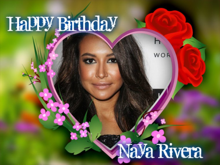 HAPPY BIRTHDAY NAYA MARIE RIVERA (Santana Lopez)