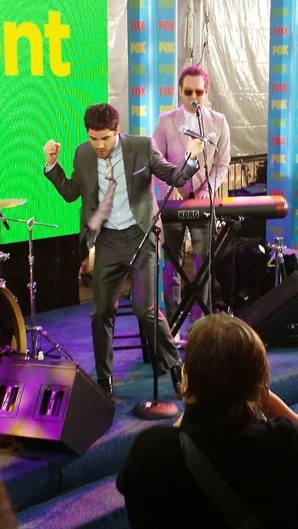Darren Criss au Fox Upfronts