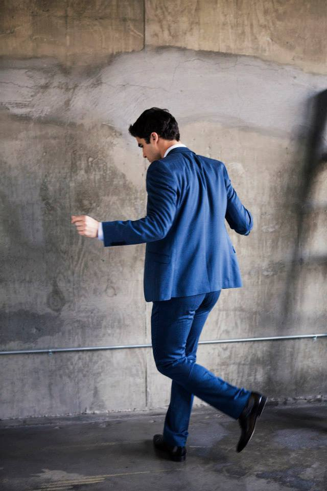 DARREN CRISS POUR UN PHOTOSHOOT