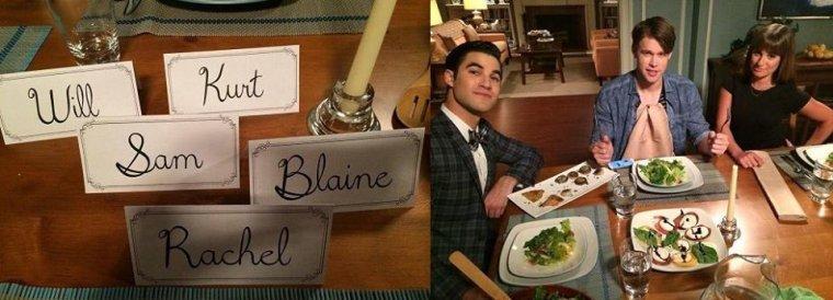 Chris et Darren sur le tournage avec Lea et Chord
