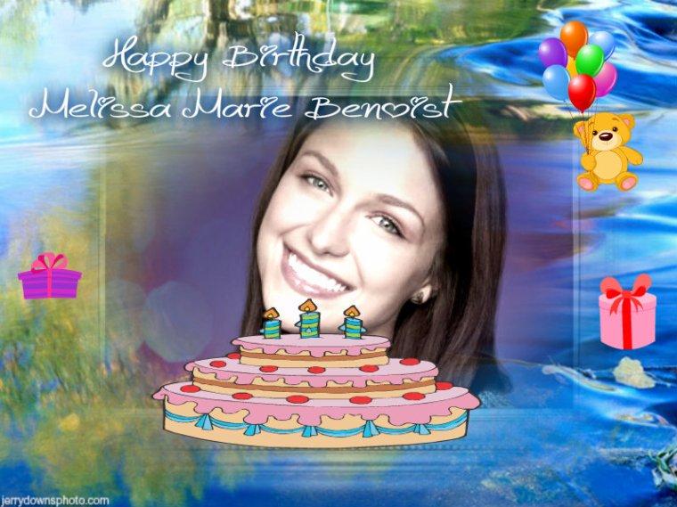 Happy Birthday Melissa Marie Benoist (Marley Rose)